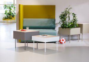 Cascando kantoormeubilair Den Haag rombo table top Heering Office