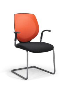 Giroflex kantoormeubelen Den Haag bezoekersstoel Heering Office