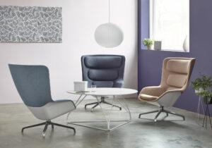 Herman Miller kantoormeubelen Den Haag striad lounge chair Heering Office