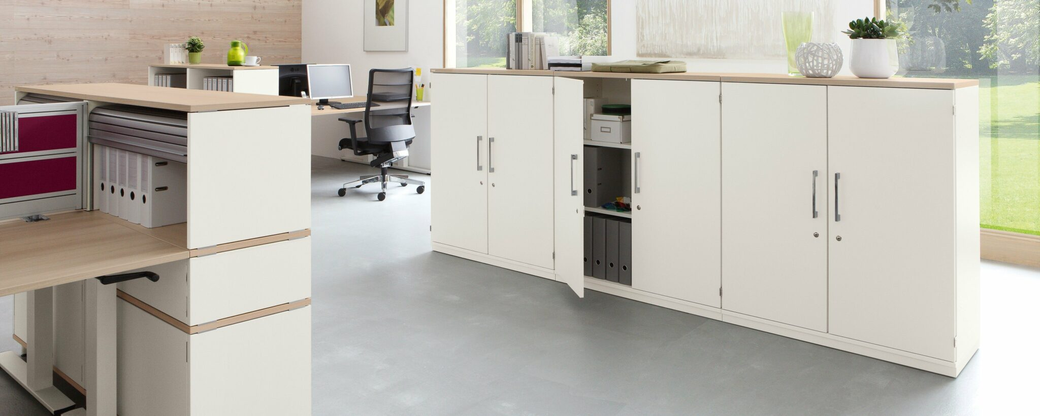 Palmberg kantoormeubilair Den Haag opbergruimte - kasten Heering Office