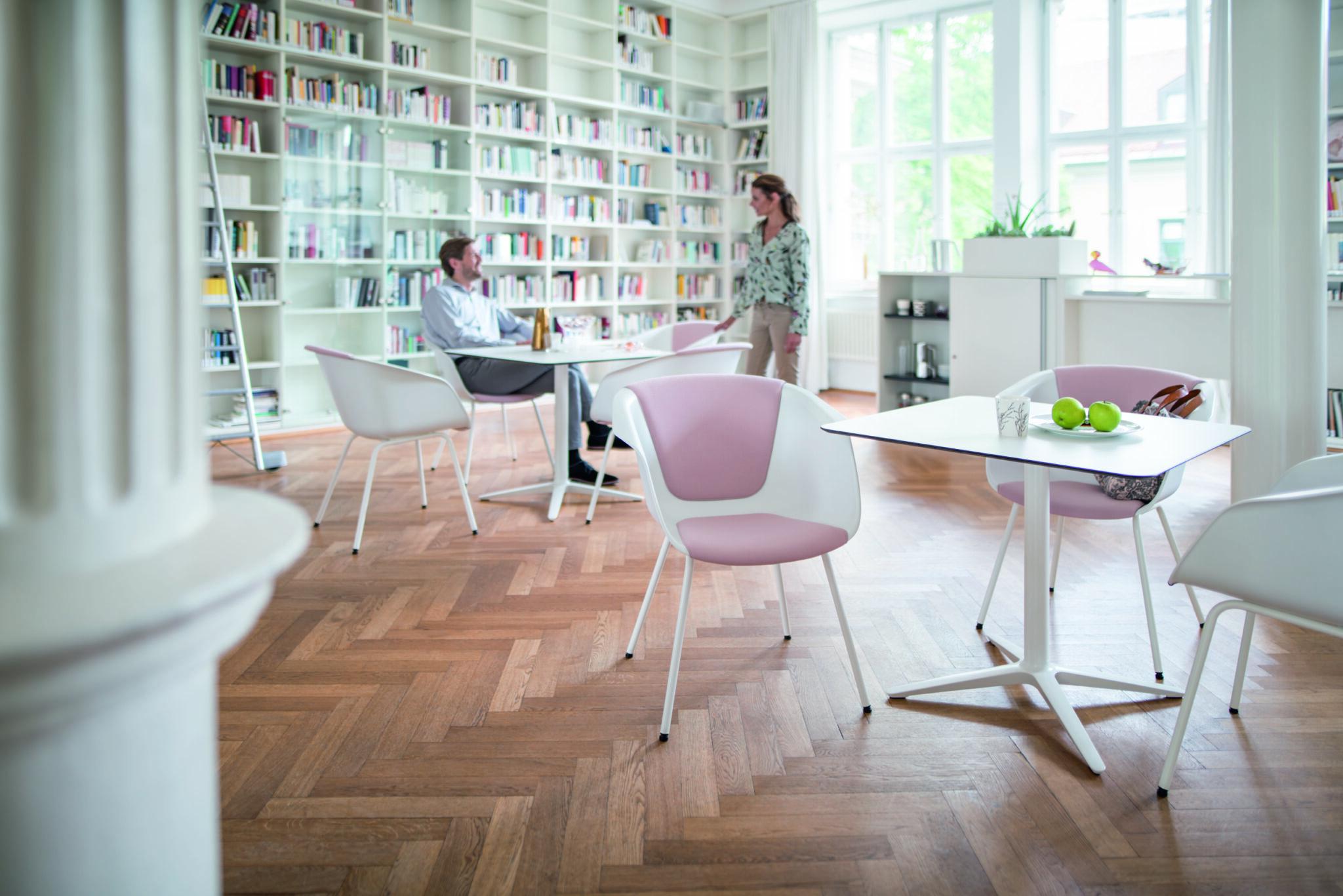 Sedus kantoormeubilair Den Haag kantinemeubilair Heering Office