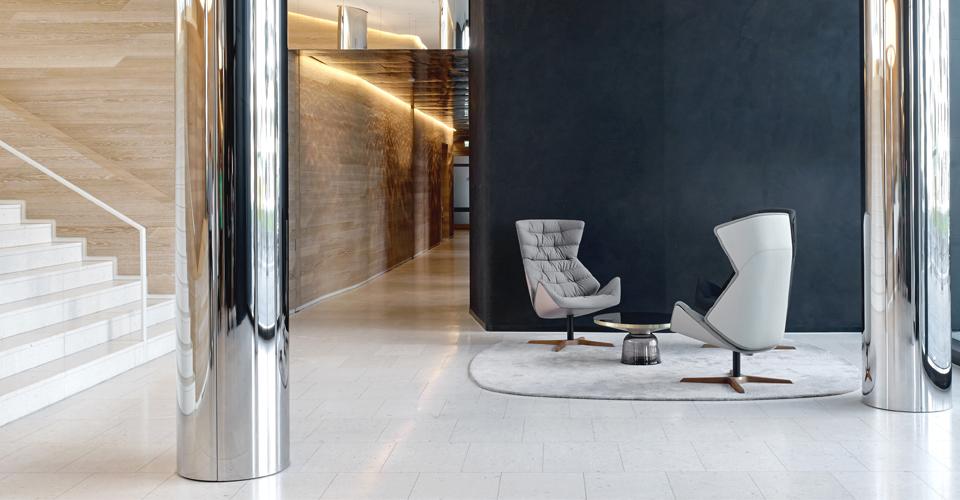 Thonet kantoormeubelen Den Haag lounge chair Heering Office