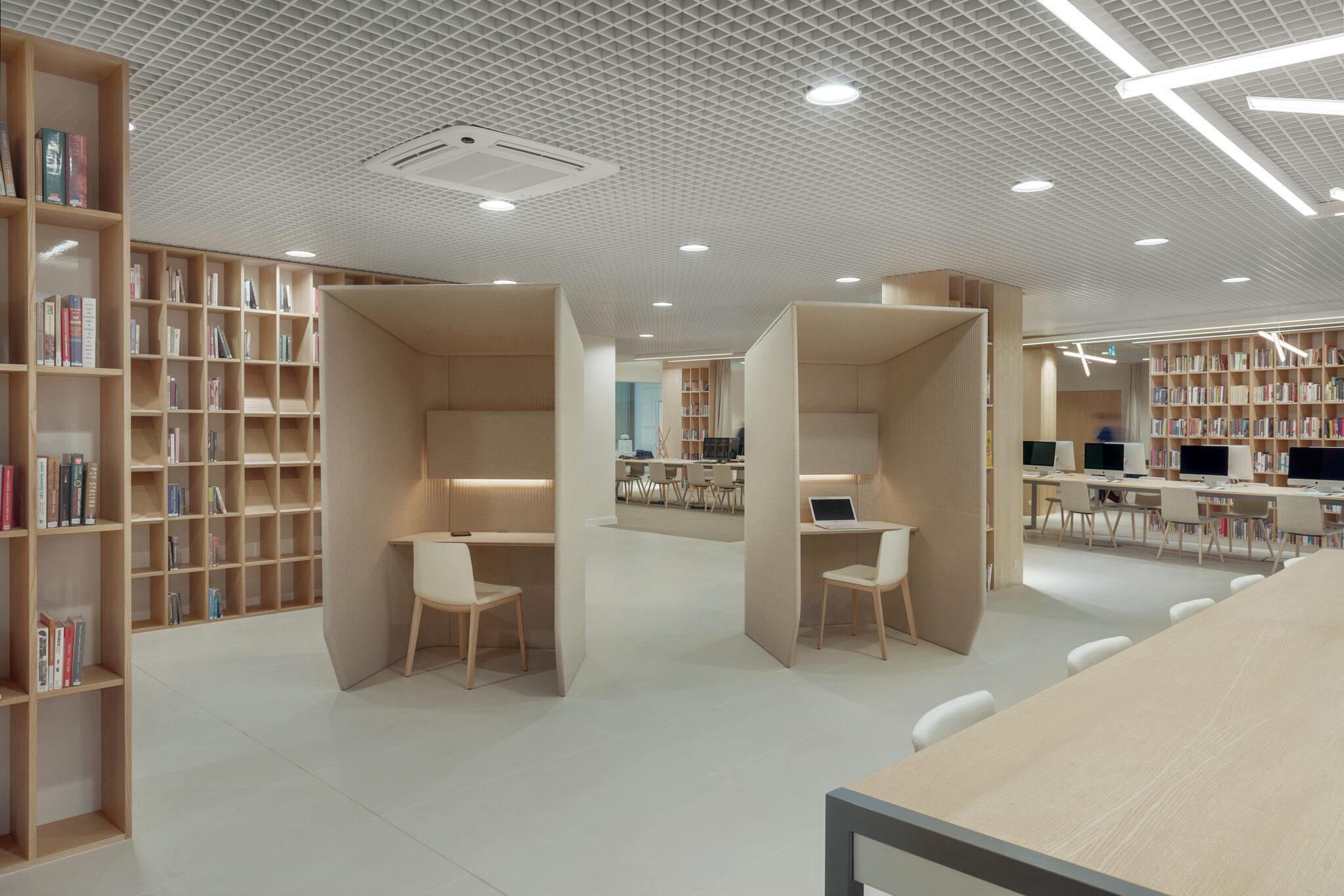 akoestische concentratie werkplek Buzzispace Heering Office