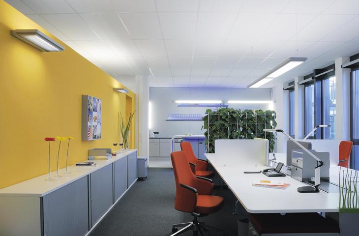 verlichting werkruimte Heering Office Den Haag