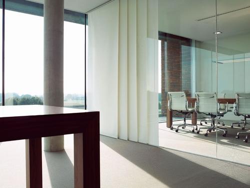 raambekleding gordijnen paneelgordijnen Heering Office Den Haag