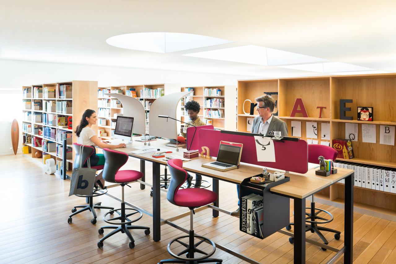 Sedus zit-sta vergadermeubilair Heering Office Den Haag