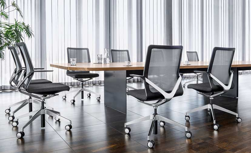 girsberger vergadermeubilair Heering Office Den Haag