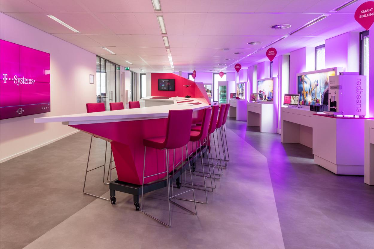 T-Systems maatwerk balie Heering Office Den Haag