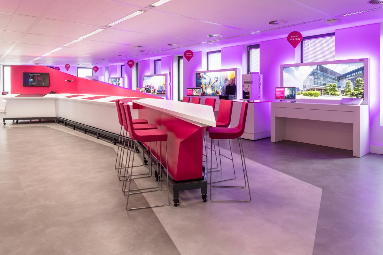T-systems maatwerk meubilair Heering Office Den Haag