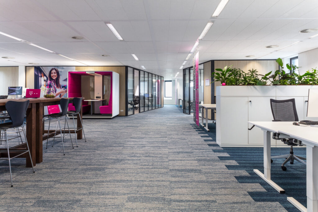 T-systems totaalinrichting Heering Office Den Haag