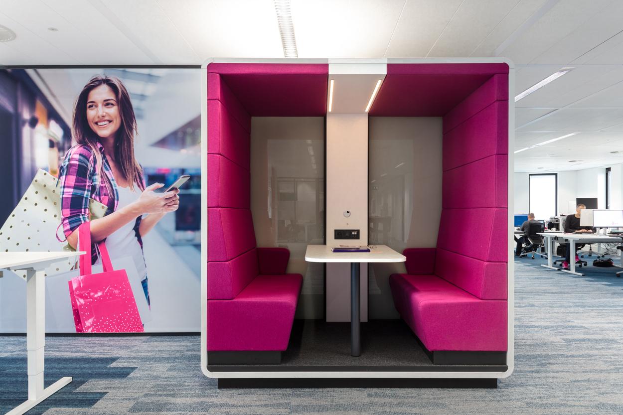 T-systems totaalinrichting Heering Office Den Haag