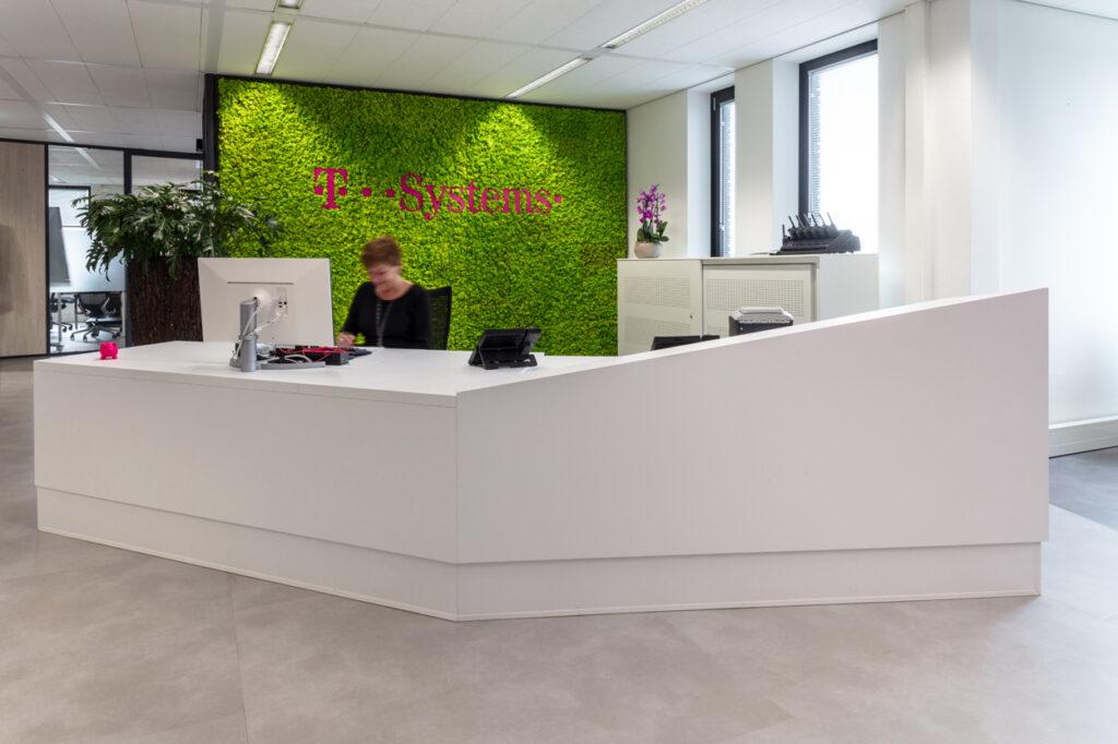 T-systems balie op maat Heering Office Den Haag