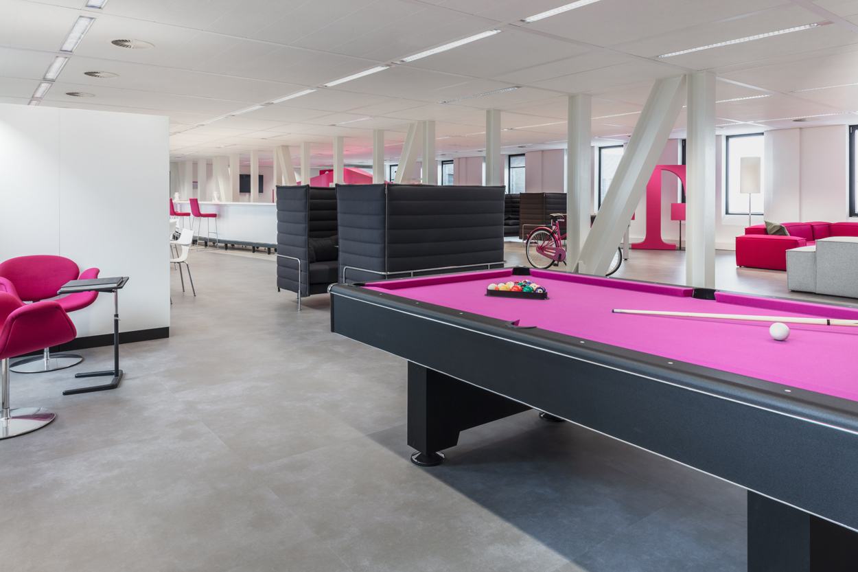 T-systems ontspanningsruimte Heering Office Den Haa