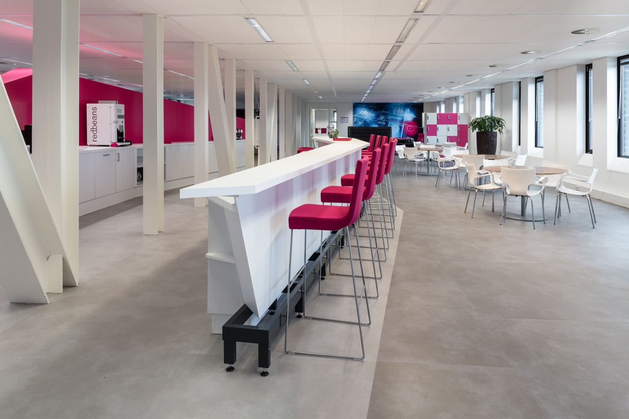 T-systems bar op maat Heering Office Den Haag