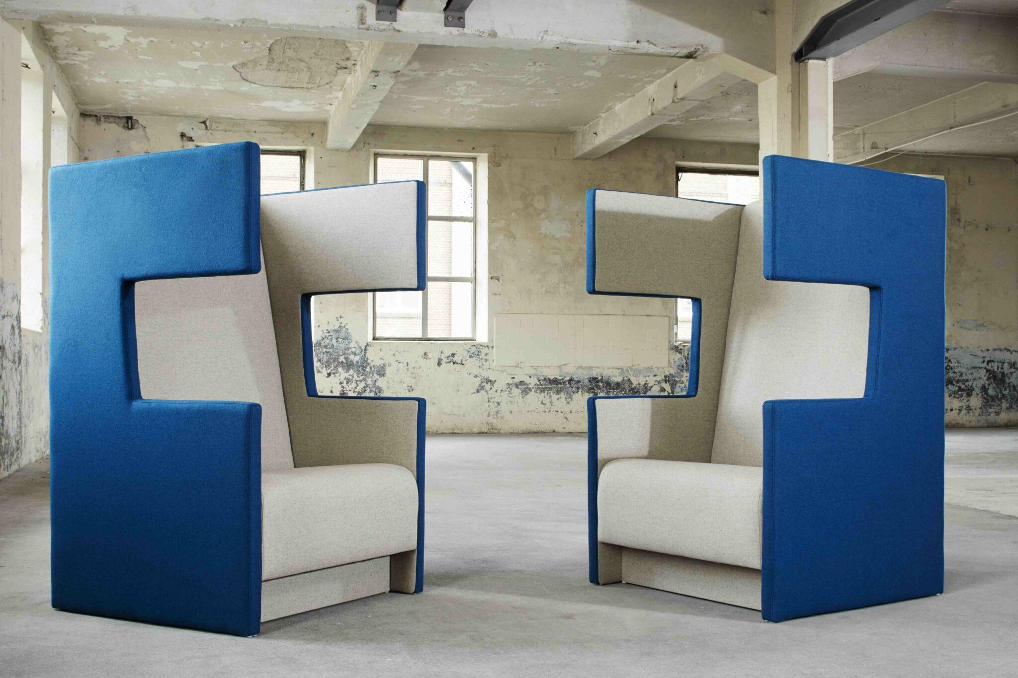 DAVANT kantoormeubilair gaja akoestiek Heering Office