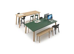 DUM BEECH BASICS kantoormeubelen Heering Office Den Haag