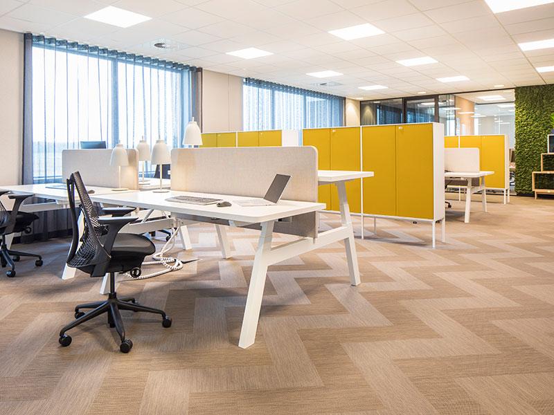 Drentea kantoormeubelen Den Haag bureaustoel bureau kast Heering Office