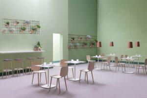 FP Collection kantoormeubilair Den Haag kantine Heering Office