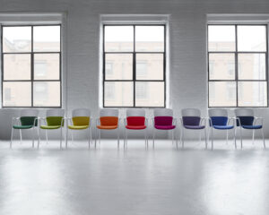 Herman Miller kantoormeubelen Den Haag keyn chair group stoel Heering Office