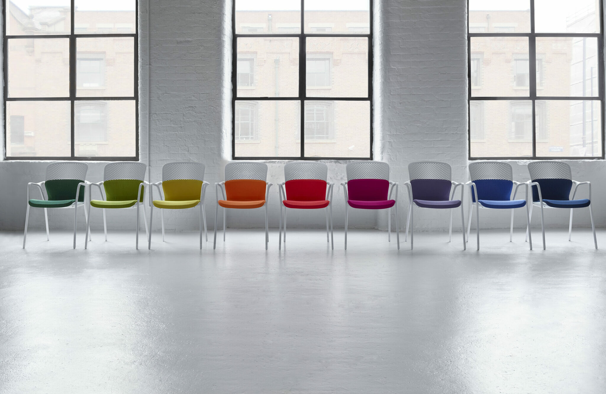 Herman Miller kantoormeubelen Den Haag keyn chair group stoel Heering Office copy