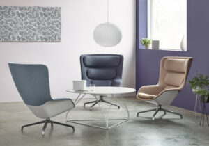 Herman Miller kantoormeubelen Den Haag striad lounge chair Heering Office