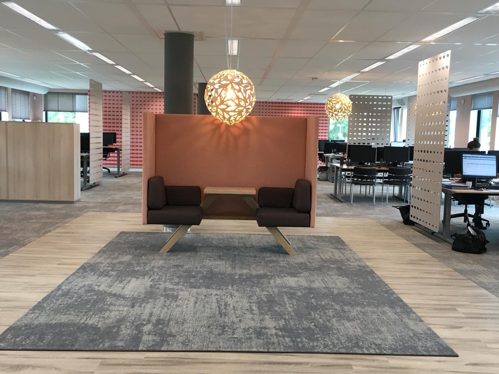 Jeugdzorg Rotterdam working area akoestisch meubilar Heering Office Den Haag