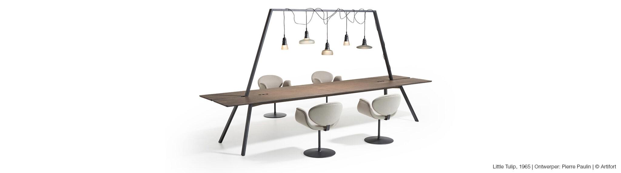 Lande kantoormeubelen Den Haag tafel heering Office