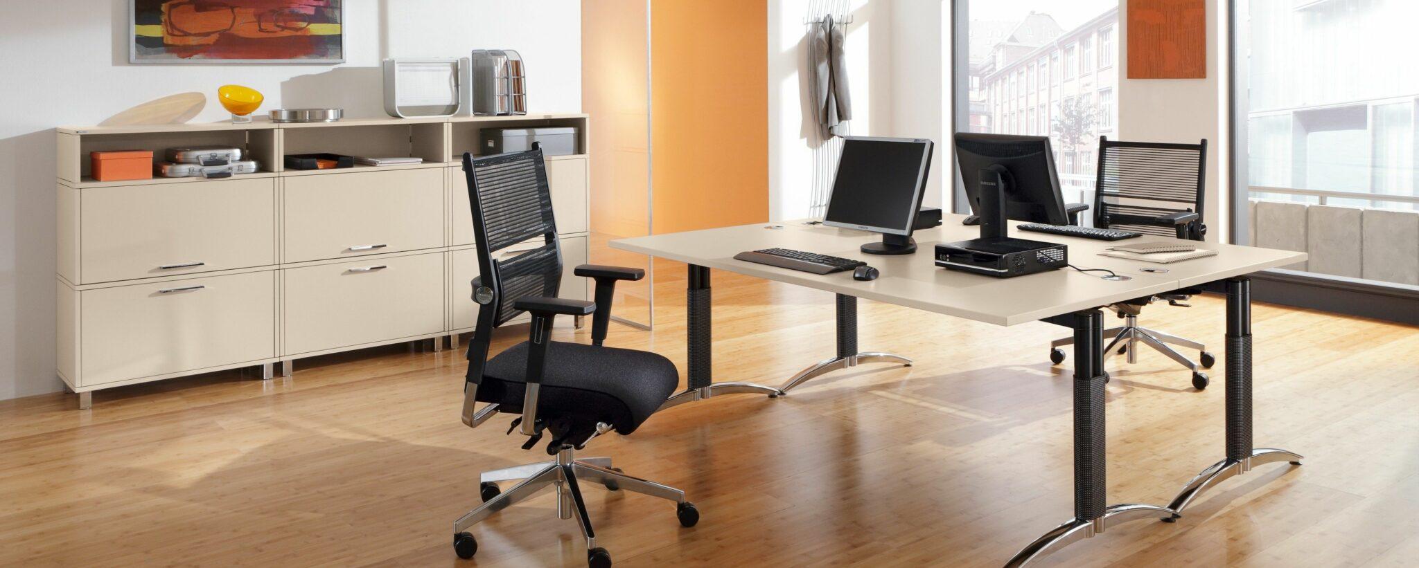 Palmberg kantoormeubelen Den Haag bureau - bureaustoel Heering Office