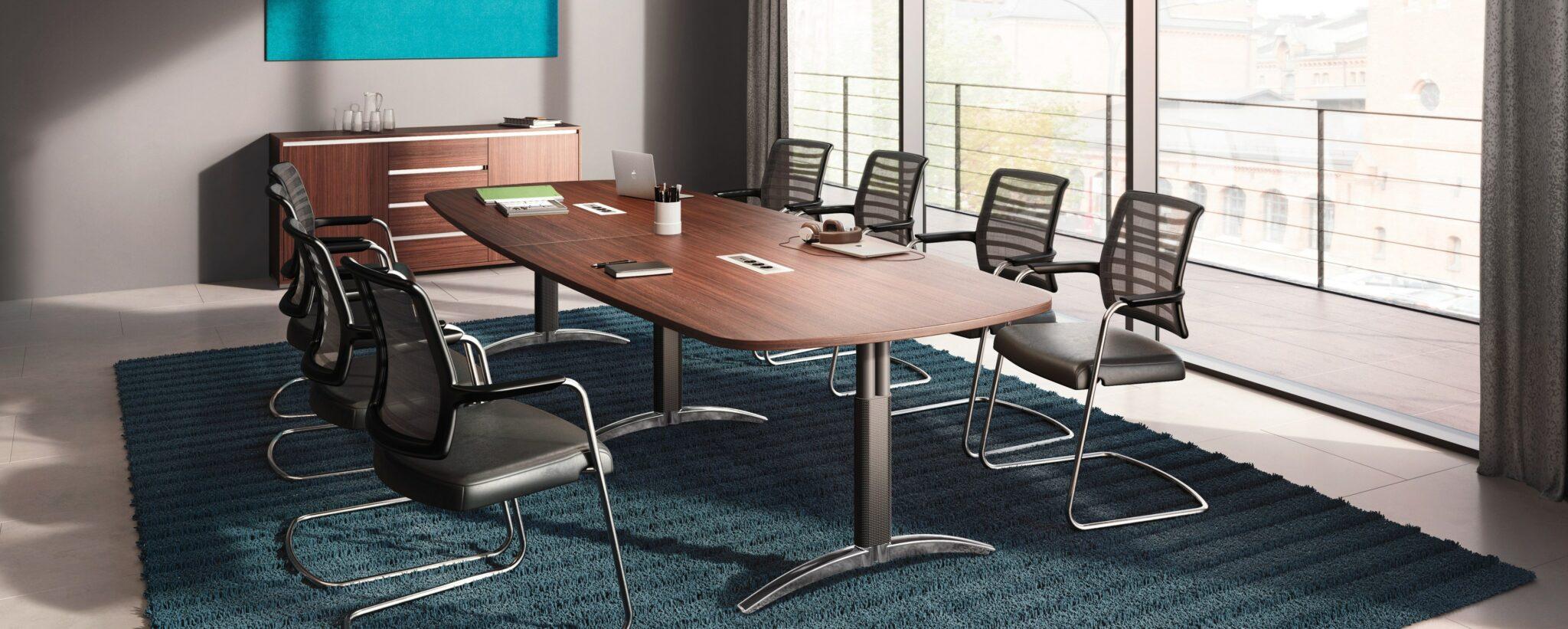 Palmberg kantoormeubelen Den Haag vergadertafel - vergaderstoelen Heering Office