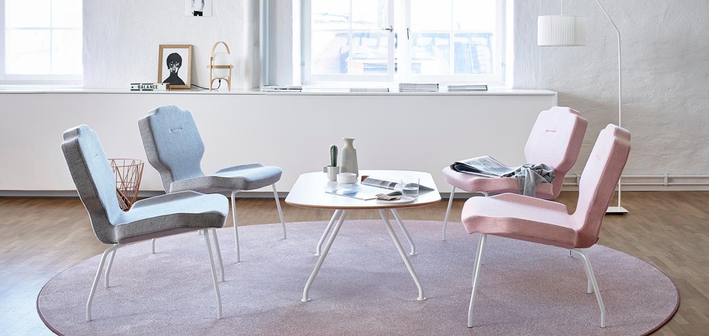 RH kantoormeubelen Den Haag lounge chair Heering Office