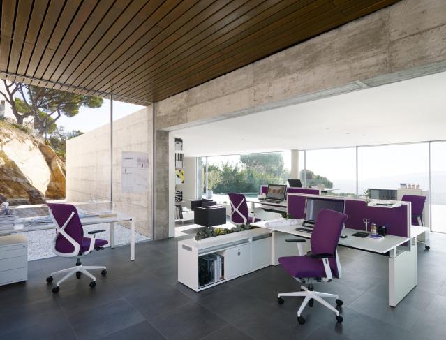 Sedus kantoormeubilair Den Haag bureau - werkplek - bureaustoel - opbergruimte Heering Office