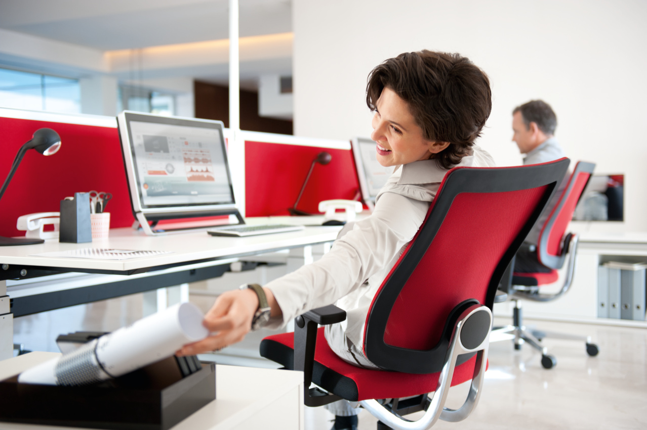 Sedus ergonomische bureaustoel Heering Office Den Haag