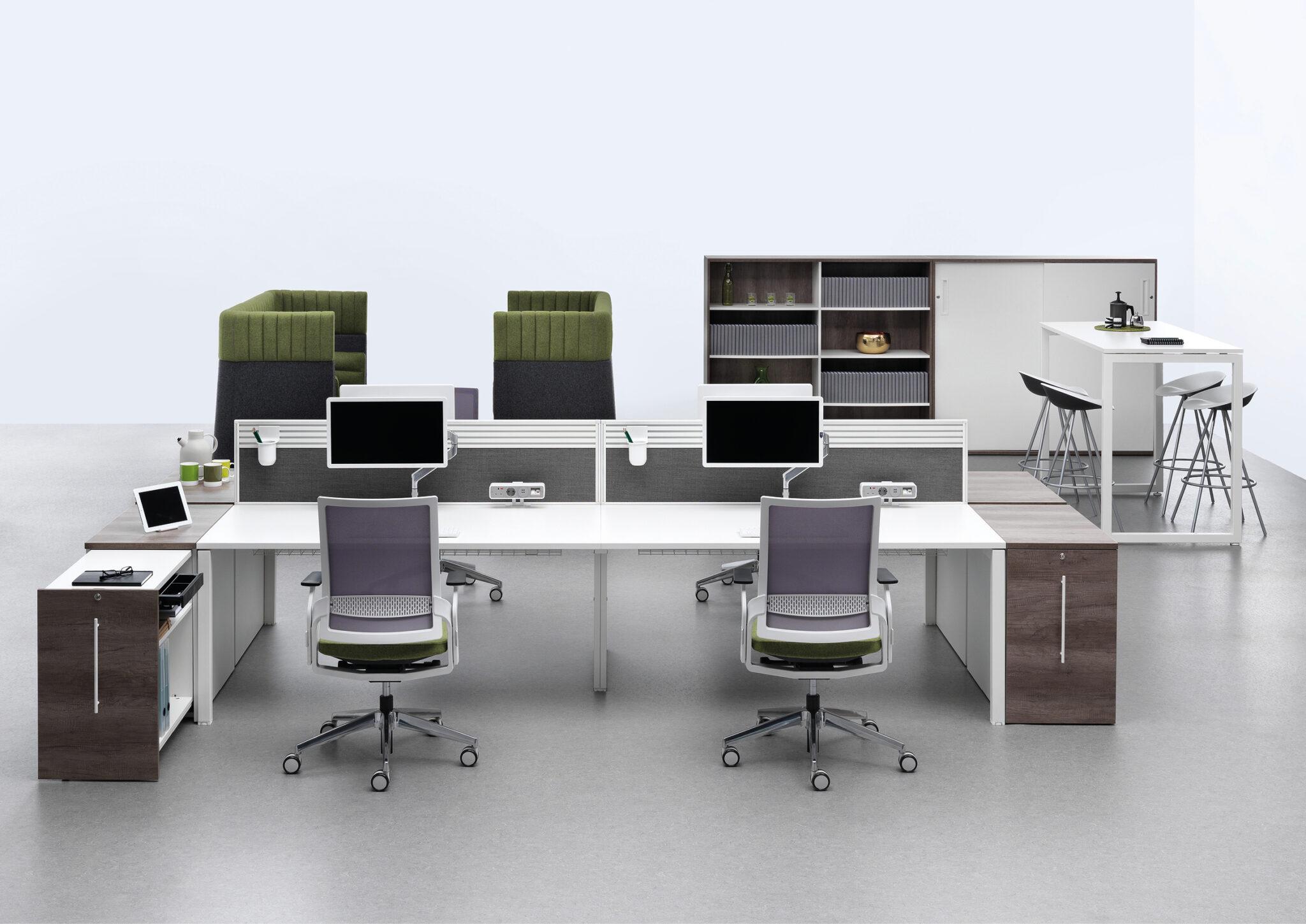 Senator kantoormeubelen Den Haag werkplek - bureaustoel - bureau Heering Office