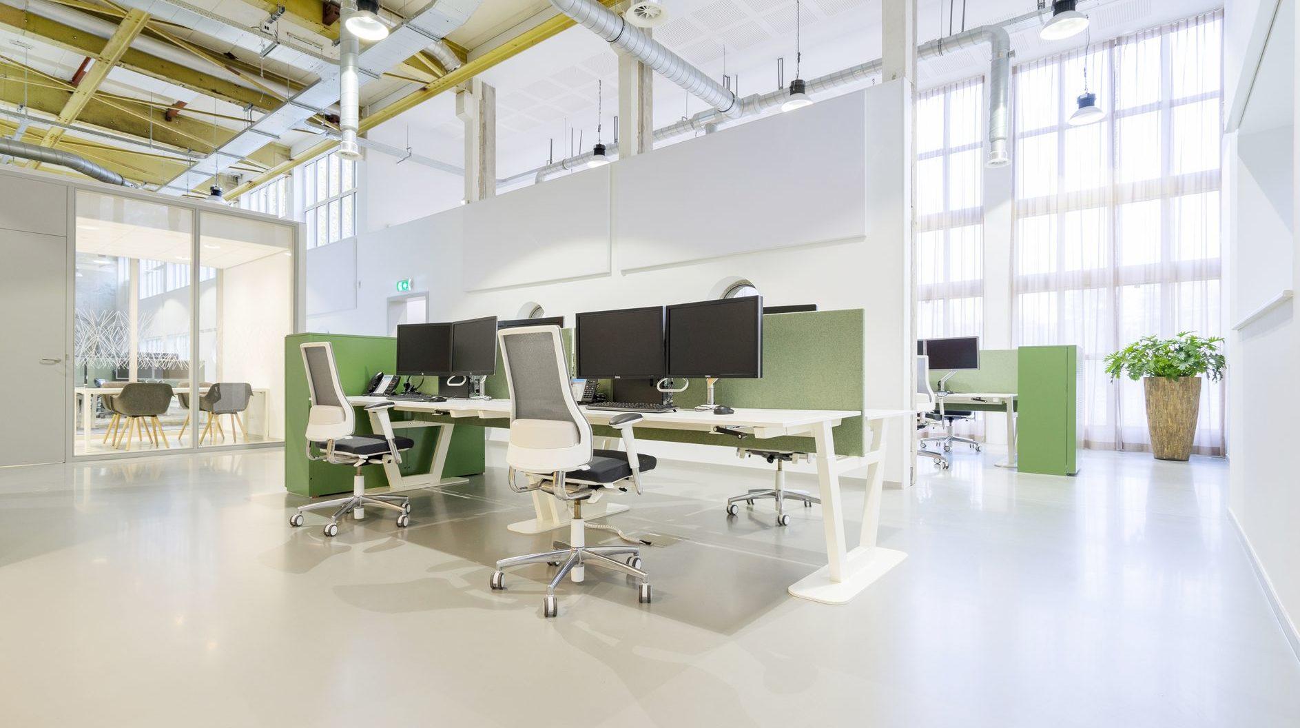 Vepa kantoormeubilair Den Haag kantoorinrichting - bureau Heering Office