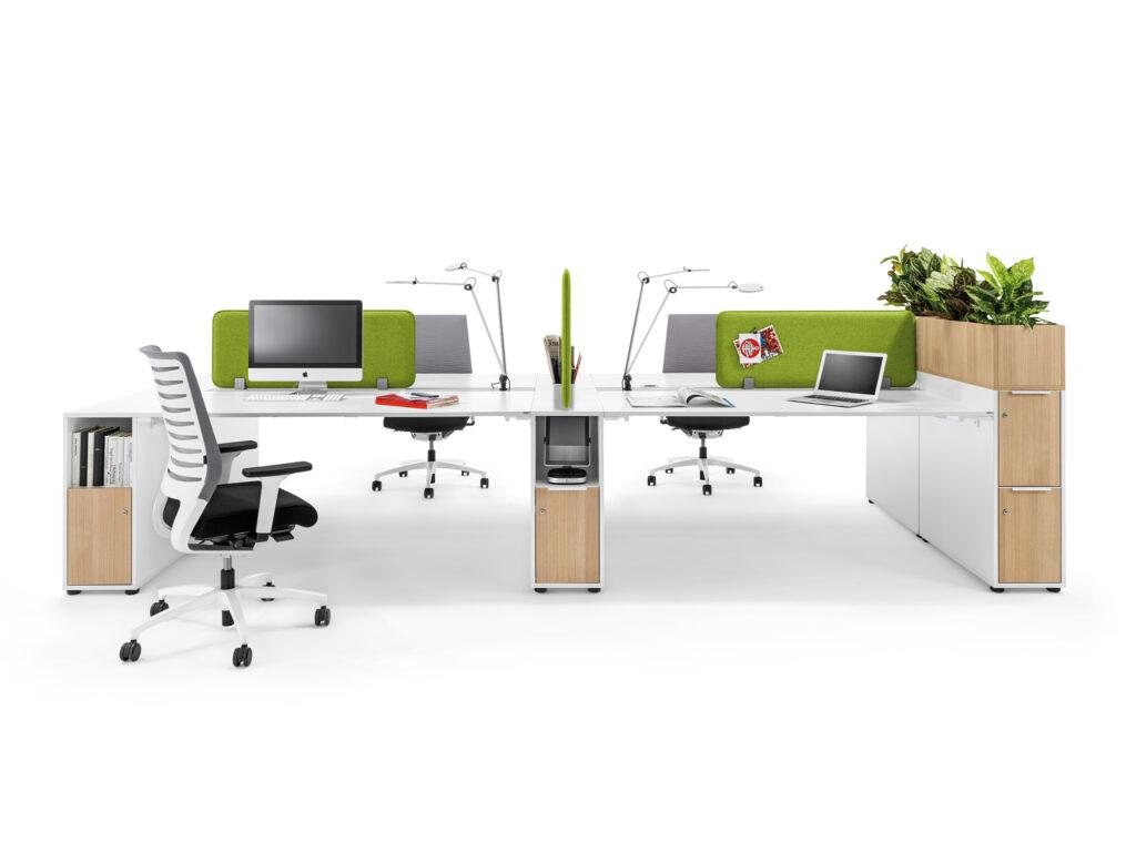 Wini kantoormeubilair Den Haag bureau - werkplek - bureaustoel - duurzaam Heering Office