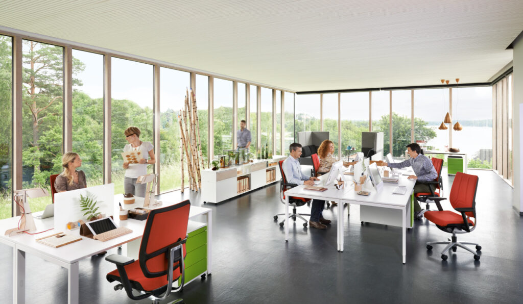 Sedus milieu bench kantoormeubilair Heering Office Den Haag