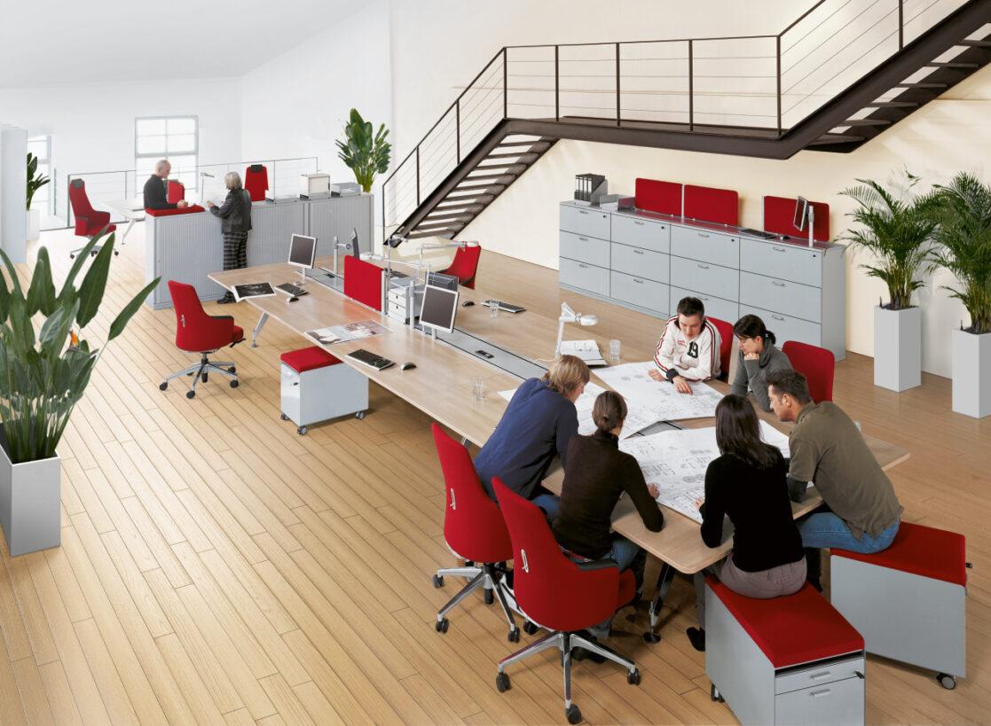 Sedus kantoormeubilair Heering Office Den Haag