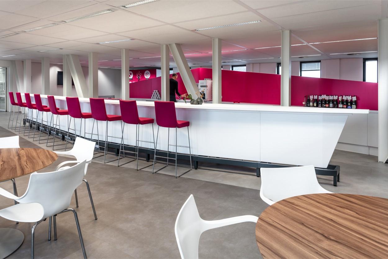 keukenmeubel maatwerk T-systems Heering Office Den Haag