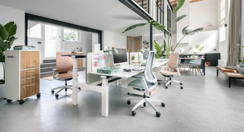 Sedus bureau zit-sta Heering Office Den Haag