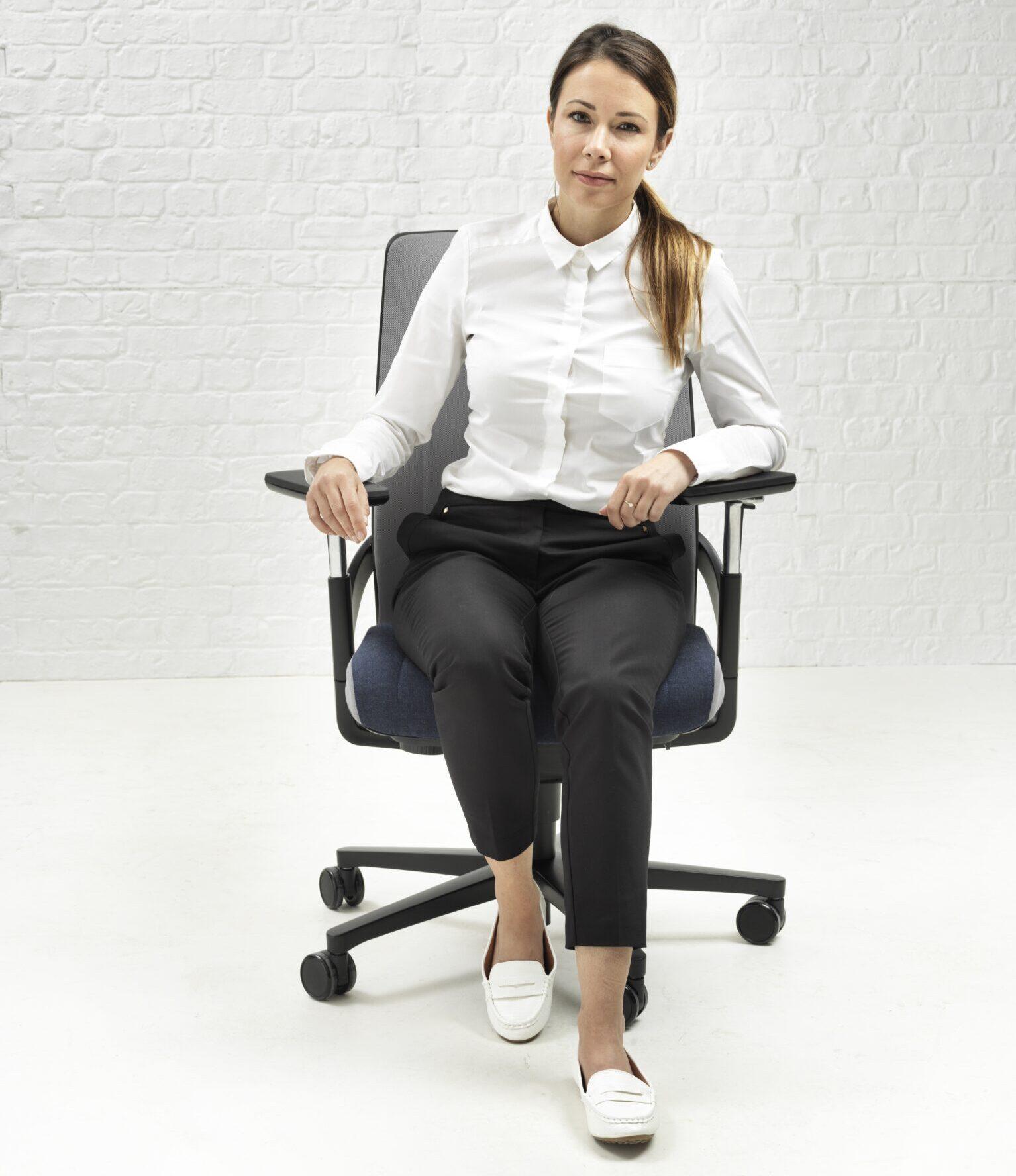 Senator I-work chair ergonomische stoel Heering Office Den Haag