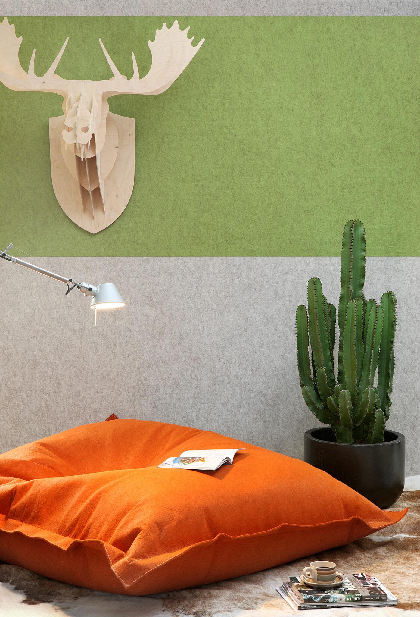 Buzzi Space akoestisch behang - akoestiek Heering Office Den Haag 2
