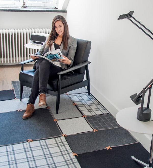Buzzi Space akoestische vloer - akoestiek Heering Office Den Haag 2