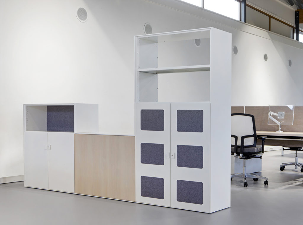Drentea akoestische kast - akoestiek Heering Office Den Haag 2