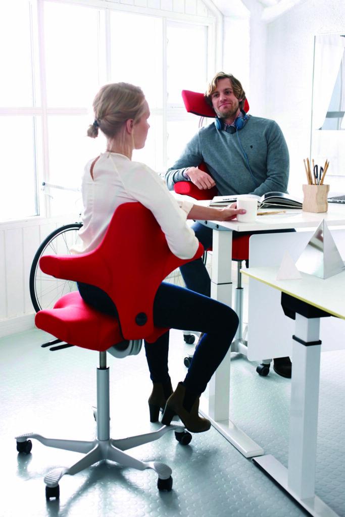 HÅG Capisco kantoorinrichting - kantoormeubelen Den Haag Heering Office ergonomie 2