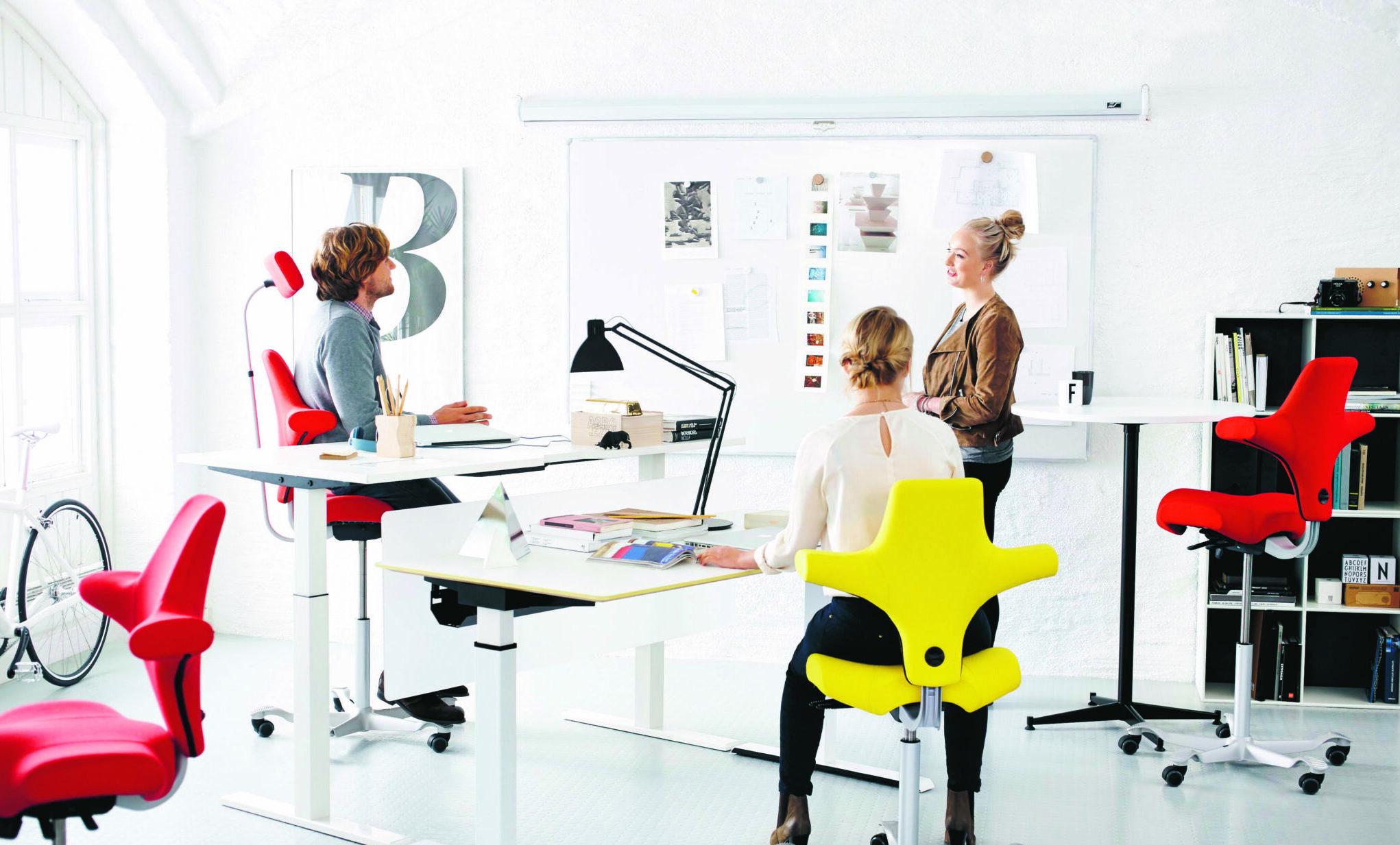 HÅG Capisco kantoormeubelen werkplek ergonomie Den Haag Heering Office