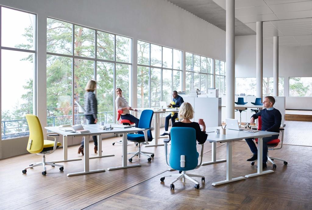 Hag Sofi ergonomische stoel Heering Office Den Haag