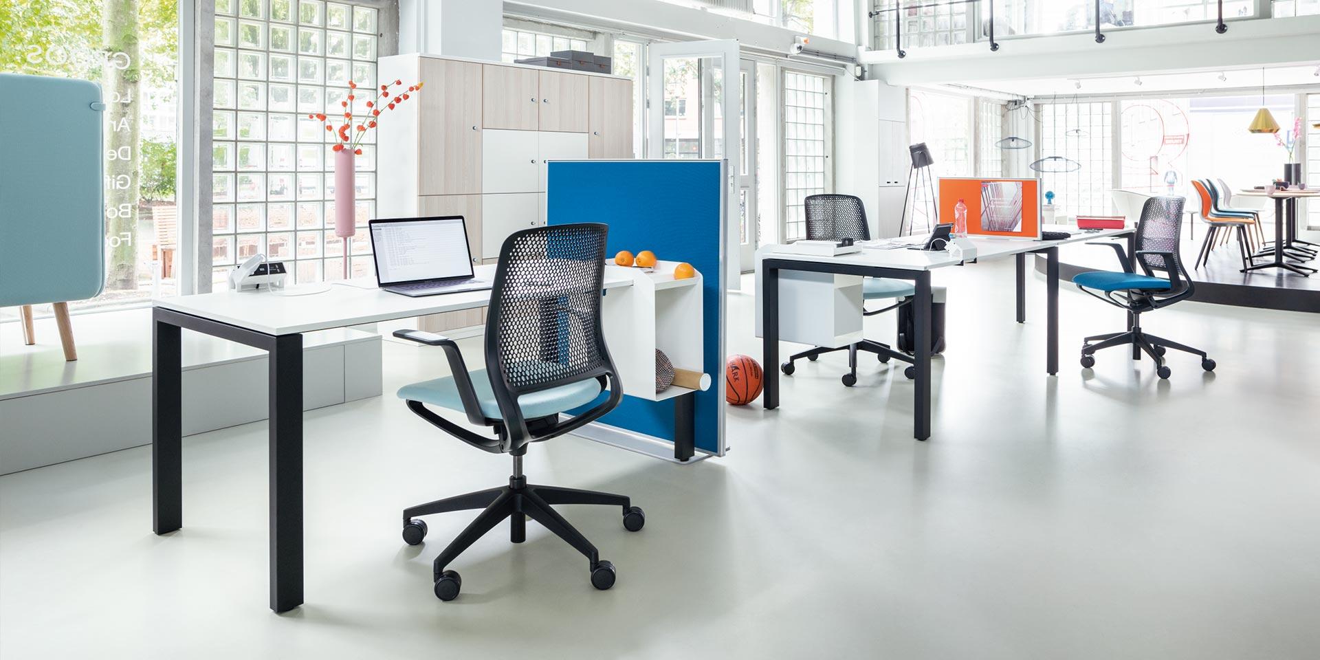 Sedus akoestische scheidingswand - akoestiek Heering Office Den Haag 3
