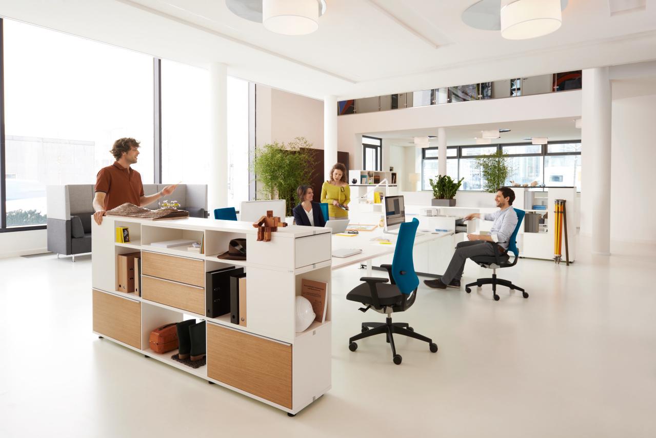 Sedus opbergruimte - kast Heering Office Den Haag 3