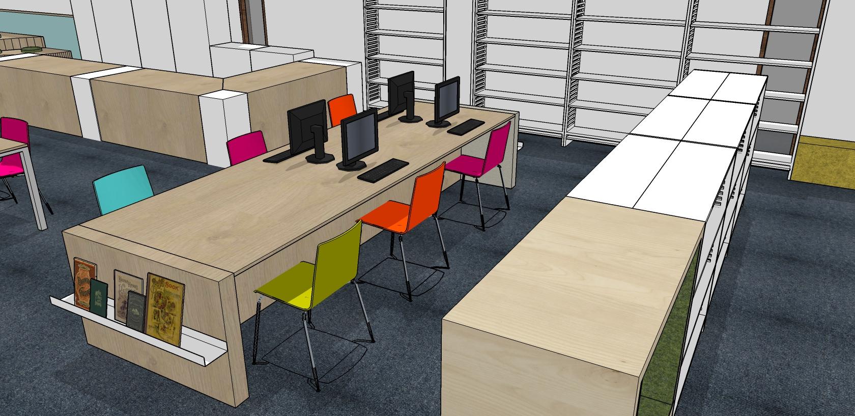 kinderbibliotheek maatwerk computerlokaal Heering Office Den Haag