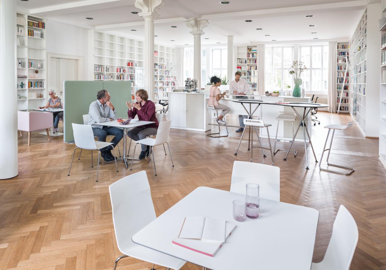 Sedus ontvangstmeubilair - loungemeubilair Heering Office Den Haag